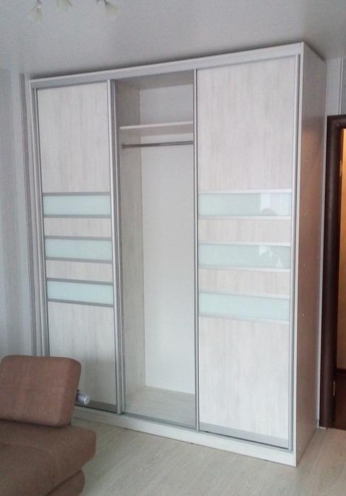 Белые шкафы-купе-Шкаф-купе из ЛДСП «Модель 41»-фото3