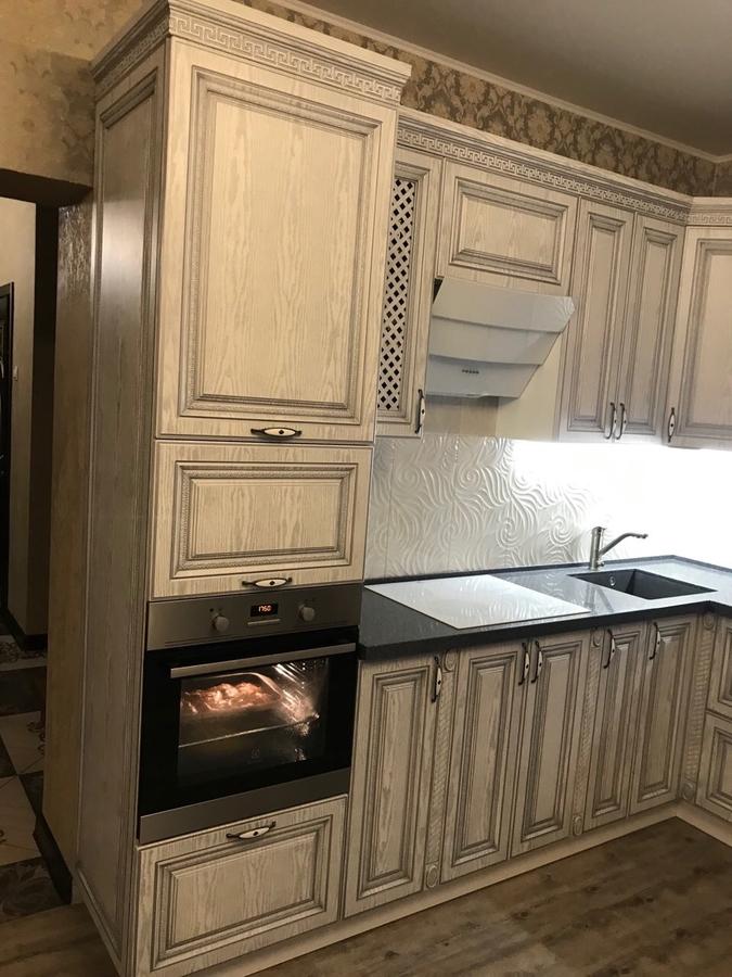 Встроенная кухня-Кухня МДФ в ПВХ «Модель 58»-фото3