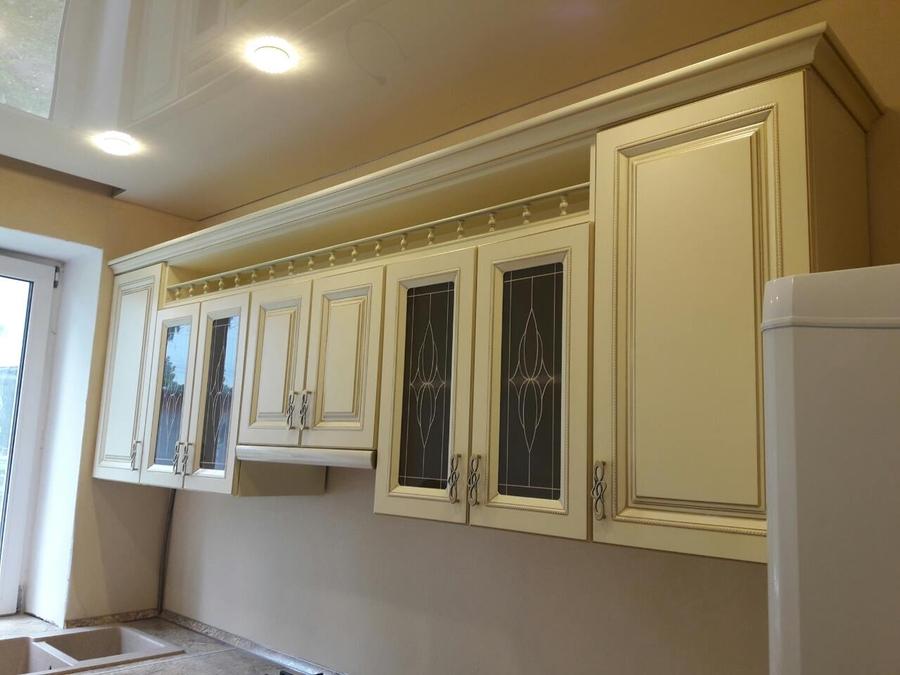 Белый кухонный гарнитур-Кухня «Модель 482»-фото9
