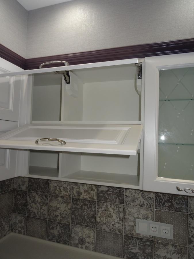 Классические кухни-Кухня МДФ в ПВХ «Модель 518»-фото8
