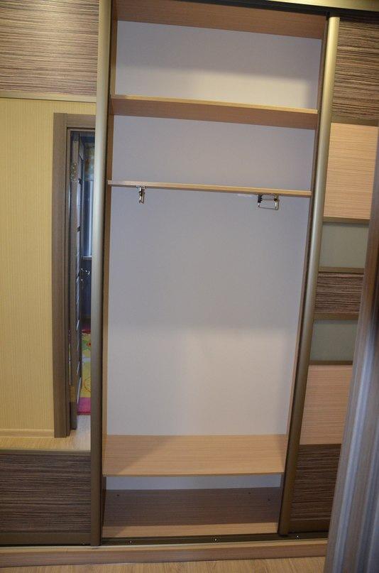 Бельевой шкаф-купе-Шкаф-купе с зеркалом «Модель 293»-фото7
