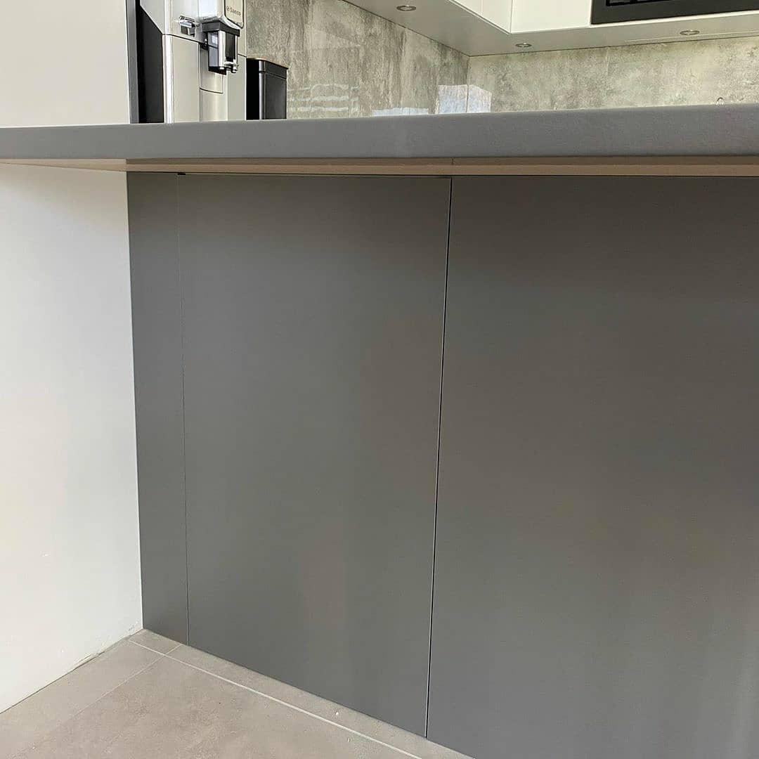 Белый кухонный гарнитур-Кухня МДФ в эмали «Модель 627»-фото6