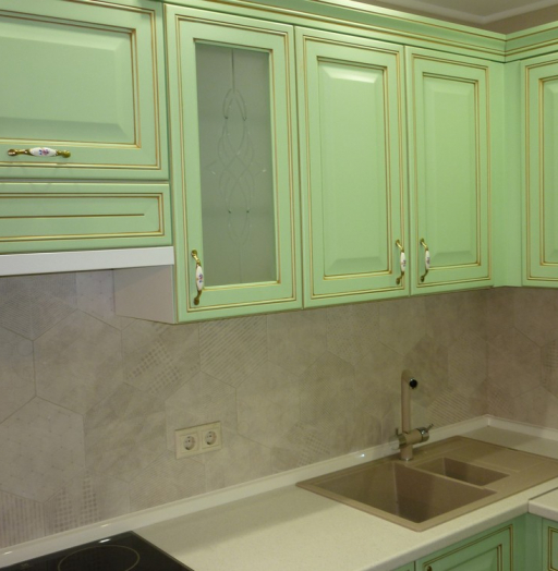 -Кухня МДФ в ПВХ «Модель 326»-фото10
