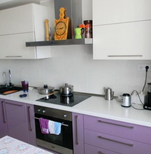 -Кухня МДФ в ПВХ «Модель 238»-фото3