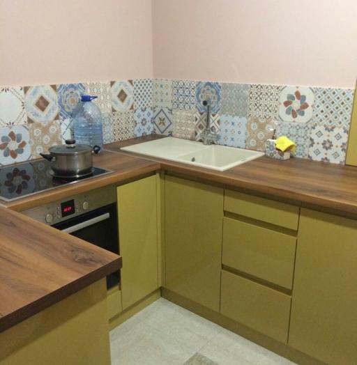 -Кухня МДФ в эмали «Модель 90»-фото7