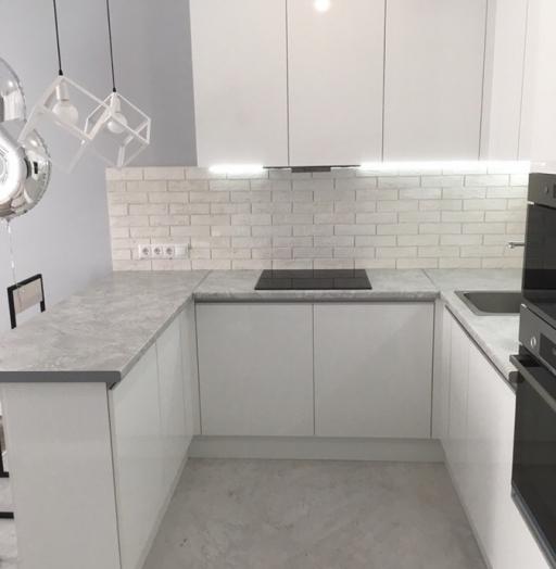 -Кухня МДФ в эмали «Модель 431»-фото11