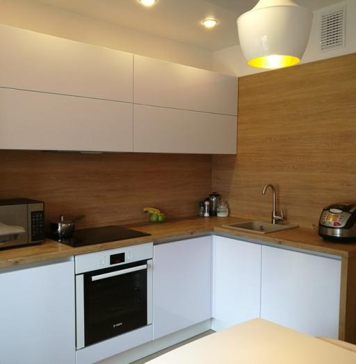 -Кухня из пластика «Модель 438»-фото9