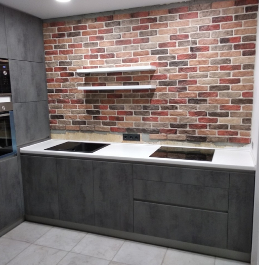 -Кухня МДФ в ПВХ «Модель 442»-фото18