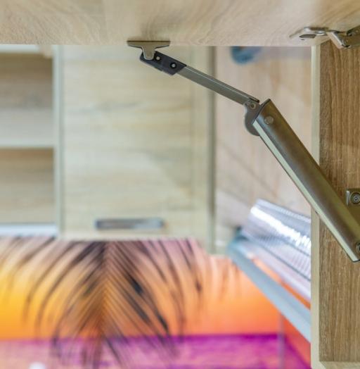 Белый кухонный гарнитур-Кухня МДФ в ПВХ «Модель 45»-фото11