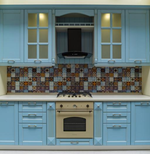 -Кухня МДФ в ПВХ «Модель 54»-фото13