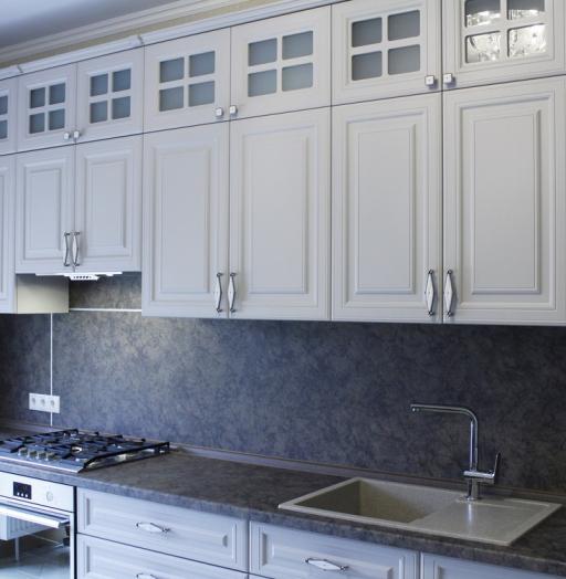 -Кухня МДФ в ПВХ «Модель 147»-фото7