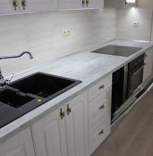 -Кухня из пластика «Модель 185»-фото22