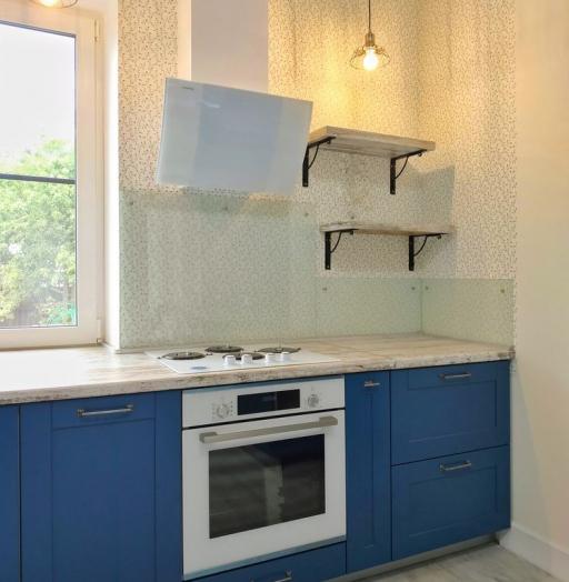 -Кухня МДФ в эмали «Модель 528»-фото11