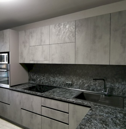 -Кухня МДФ в ПВХ «Модель 575»-фото26